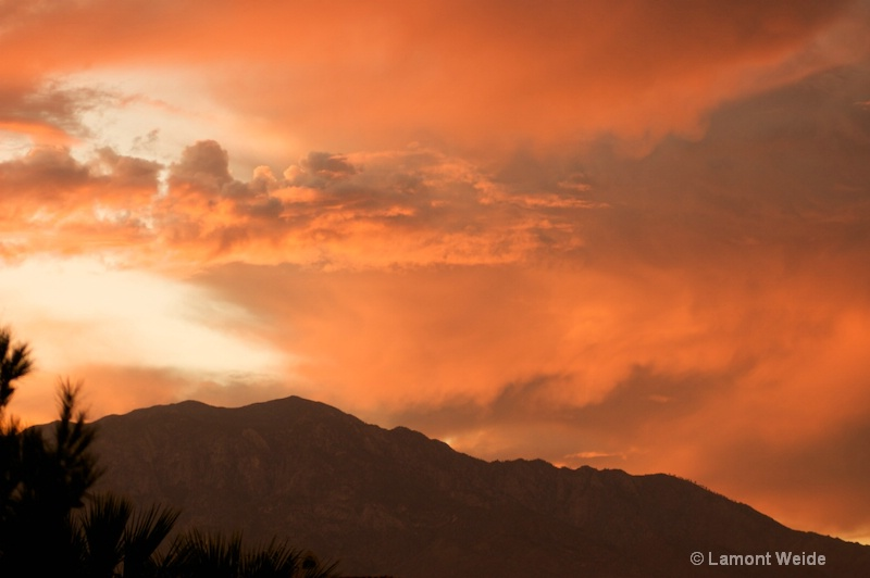 Sunset in Palm Springs - ID: 9356716 © Lamont G Weide